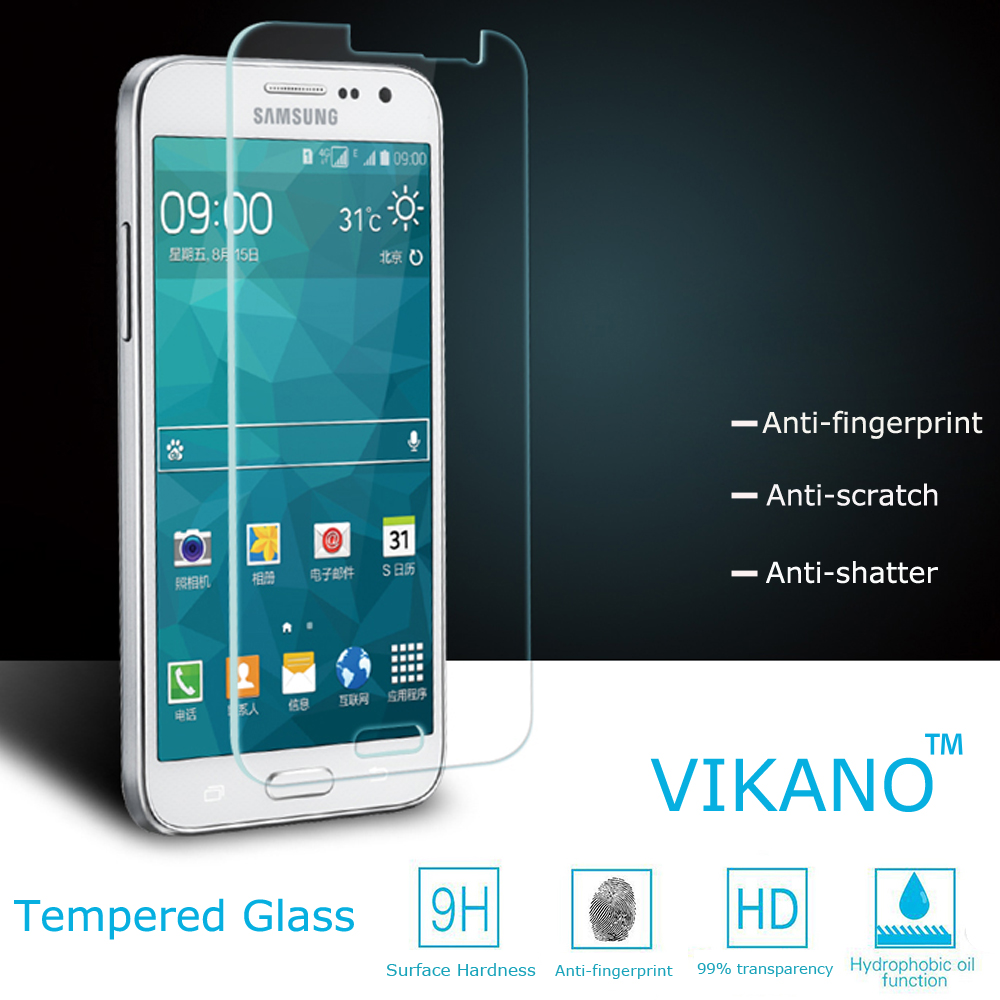 Dropproof Anti-scratch 9H Tempered Glass Protective Film Screen Protector for Galaxy S4 Samsung I9500