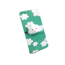 Low price China Cute Squishy 3D Cat Phone Case Protective Soft Silicone Squishy moblie Phone Case For Iphone 7 /7Plus