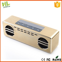Customized new arrival cheap digital full touch screen bluetooth speaker with woofer sound quality