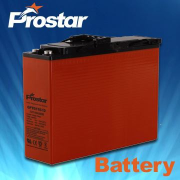 China Factory Price Gel Battery Front Terminal Battery 12V 110AH