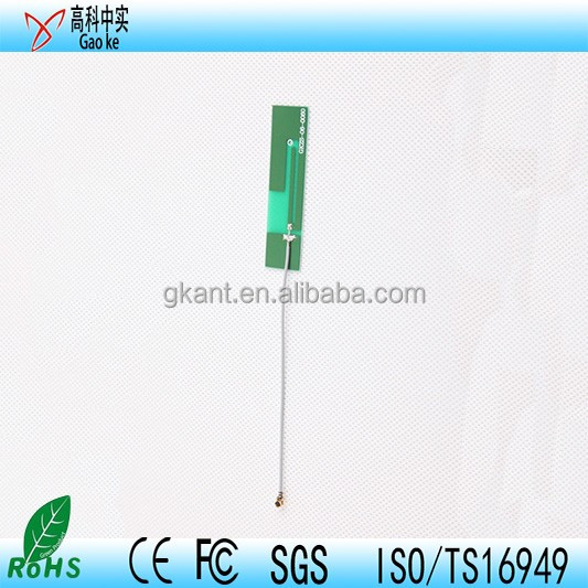 WIFI internal antenna with RF1.13 cable wifi pcb antenna ufl connecor