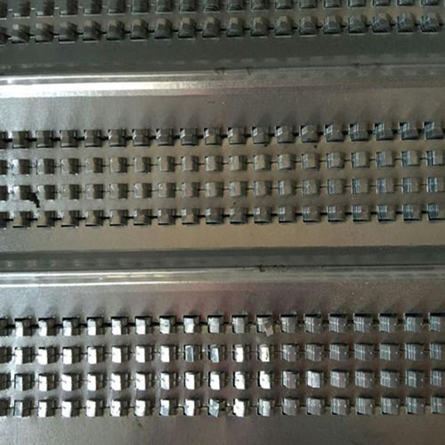 450mm x 2200mm galvanized high rib formwork for construction