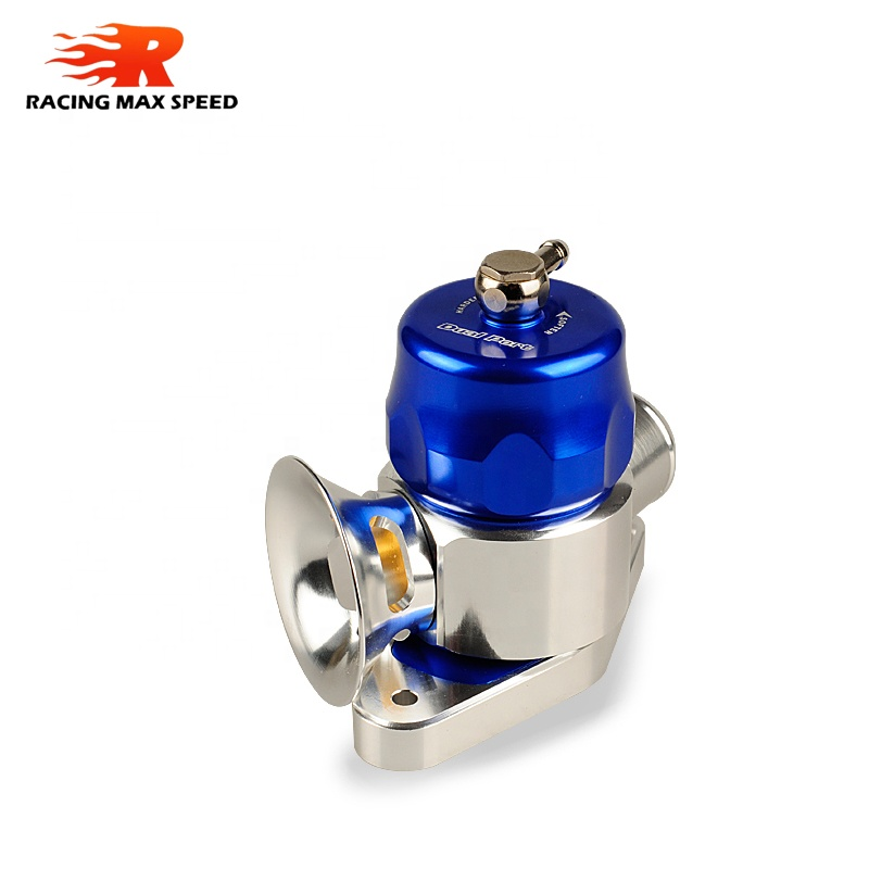 Universal 29mm Dual Port blow off valve Blue