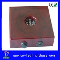 2013 Best Selling Square Wooden Led