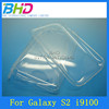 Hot clear pc case for samsung galaxy s2 i9100 case
