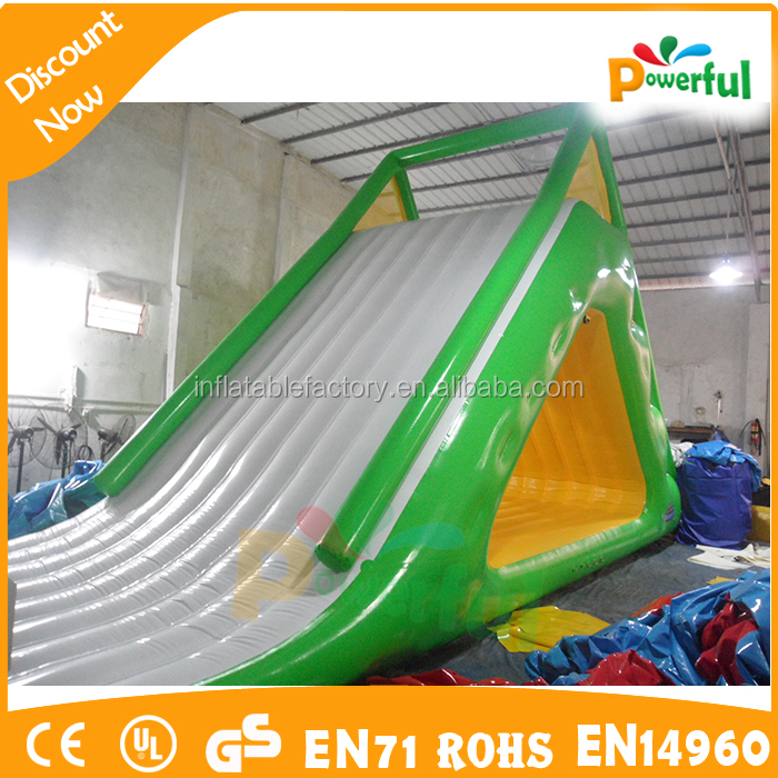 giant inflatable water toy slides inflatable floats water slide