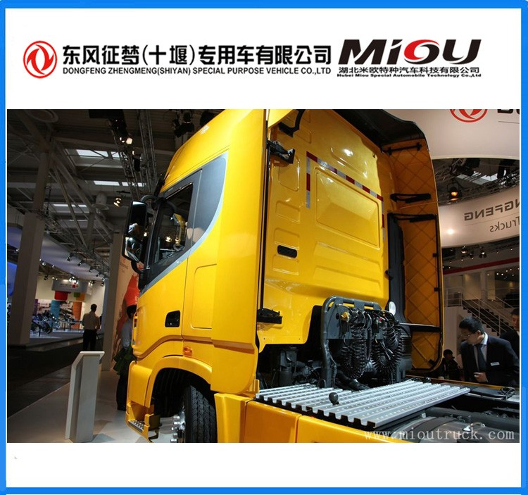 made in china 4x2 heavy duty good use tractor truck for hot sale
