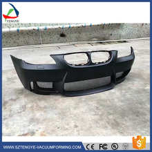 Cheap customized abs vacuum forming plastic front rear spark bumper guard