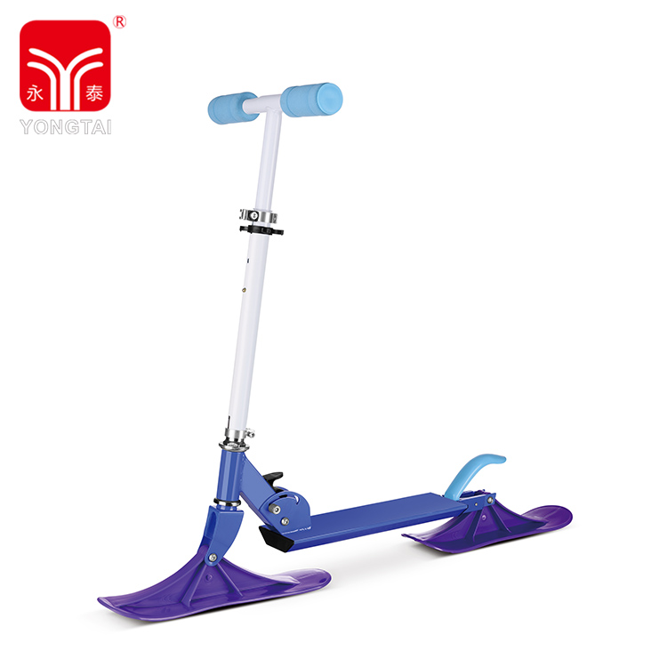 High Quality Snow Scooter Board Outdoor Winter Foldable Snow Scooter For Kids
