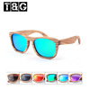 New Fashion Hand-make Wood sunglasses Polarized