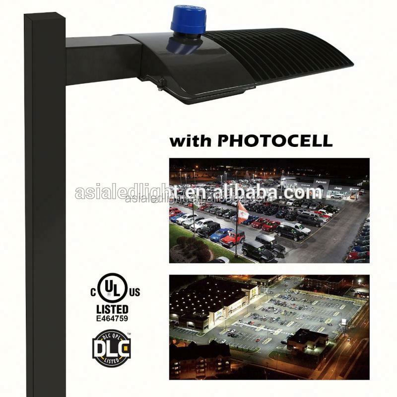 US Stock Outdoor parking lot retrofit led lamps ETL 150w shoebox light led / shoebox LED area lighting