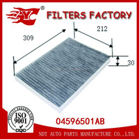 car cabin air filter used for chrysler 300C OEM NO.04596501AB