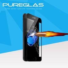 Magic Glass Film automatic absorb custom made 3d full cover tempered glass screen protector for iphone7