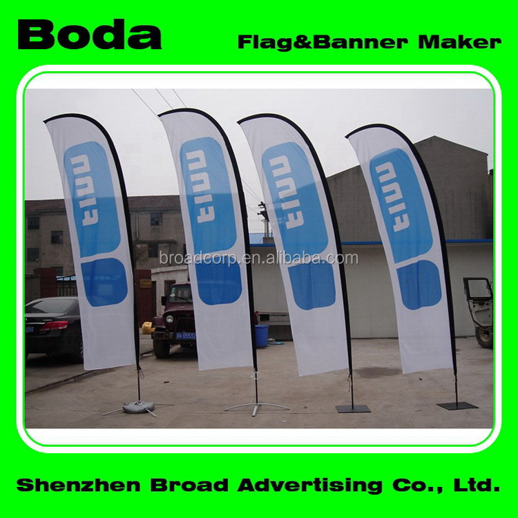 Printed style custom feather flags banners for new shop open