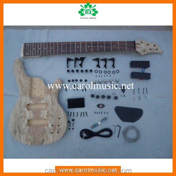BK009 6 String Electric Bass Guitar Kits For Sale