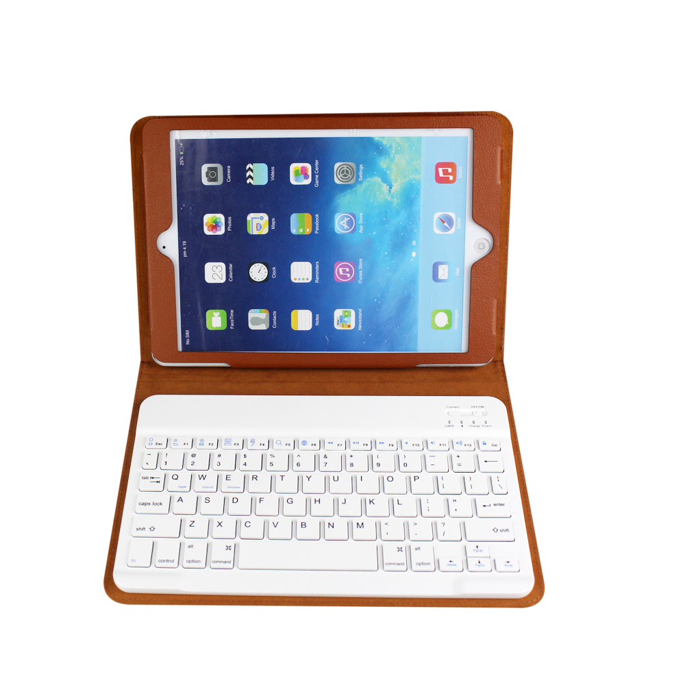 Mini Wireless Bluetooth V3.0 universal bluetooth keyboard case for ipad