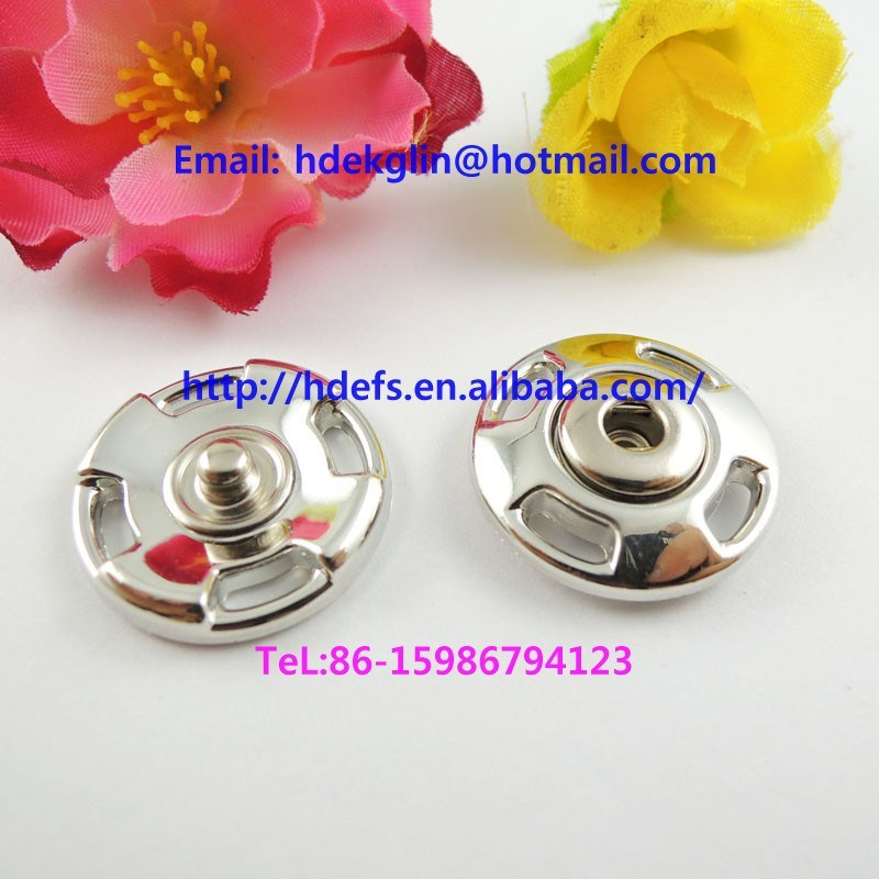 2016 newly mtal snap buttons for garment