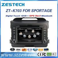 7 inch 2 din Winca system car dvd player for Kia sportage car radio with car dvd gps Mp3 player GPS Rearview camera Digital TV