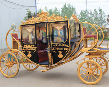 Royal horse carriage exported Europe horse drawn wagon