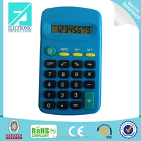 Fupu mini plastic material 8 digit calculator for promotion