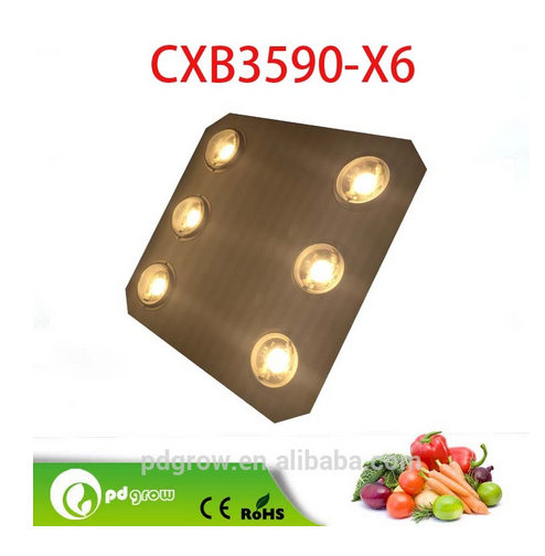 High Power and Energy Saving Sunlight Full Spectrum 600W CXB3590 LED Grow Light
