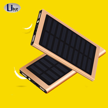 2018 Hot <strong>Portable</strong> Power Bank Solar Power Bank 20000mAh Mobile Solar Charger