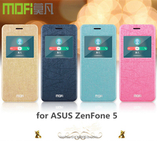 MOFi RUI Series View Window Smart Wake Sleep PU Leather Flip Case Cover for ASUS ZenFone 5 ,Back Cover for ASUS ZenFone 5