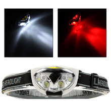 6 LED Lights 1200 Lumens Outdoor Headlight Camping LED Headlamp for Camping