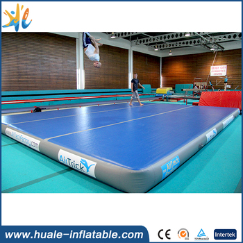 Sport games tumble track inflatable air mat for gymnastics,mats gymnastics