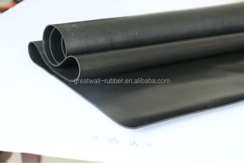 Great Wall Factory Customized Special Industrial Fire Resistance Rubber sheet rubber products