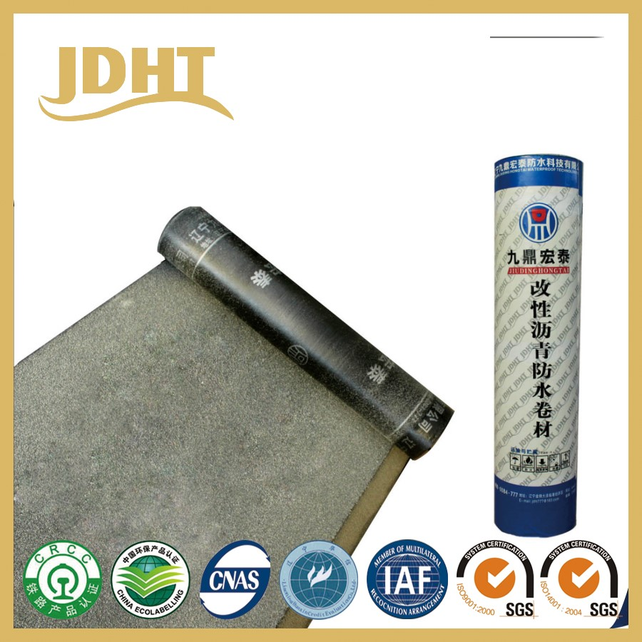 A007JD-211 SBS modified bitumen Concrete waterproof roll