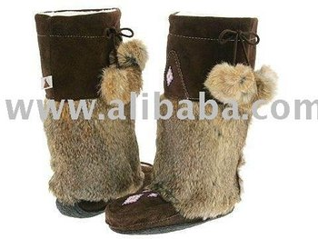 2012 Winter Mukluk Fur Boots with Cow leather