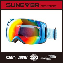 stylish with TPU material ski goggles