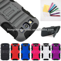 Rugged Heavy Duty Kickstand Case Cover Belt Clip For Samsung Galaxy S3 i9300