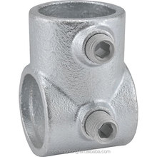 Quick Clamp Pipe Fittings 129 Adjustable Short Tee Key Klamp