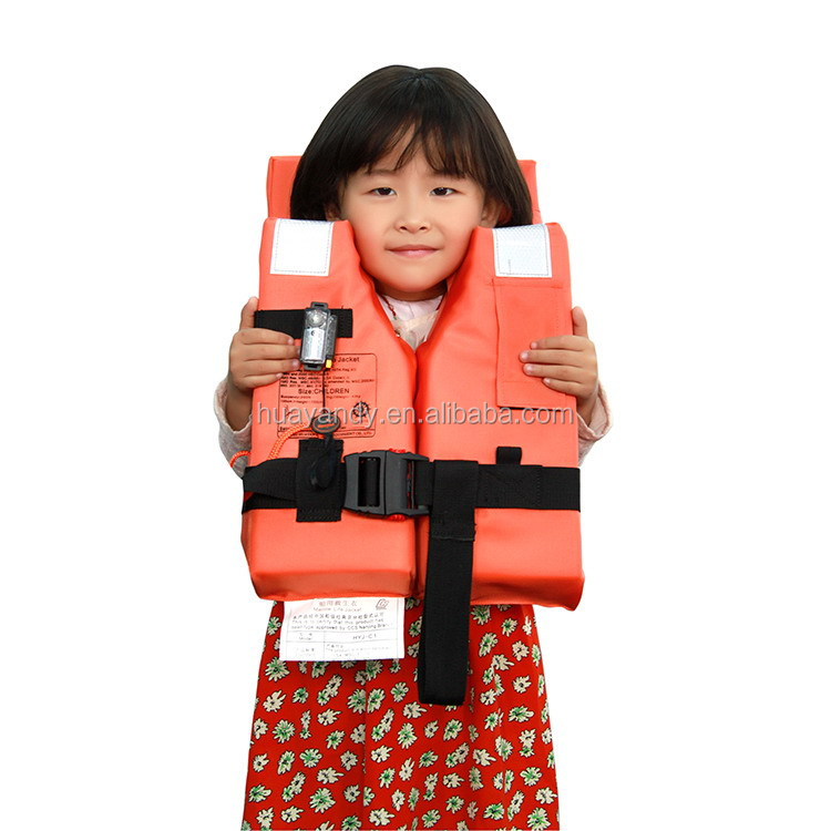 China gold supplier Nice looking foam life jacket for marine sports