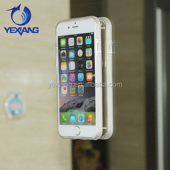 2017 New Magic Sticky Transparent Anti Gravity Case For Iphone 7 Clear TPU Back Cover