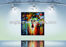 2014 Stretched canvas painting oil for bedroom wall