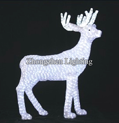 outdoor indoor commercial grade led acrylic animal christmas decoration