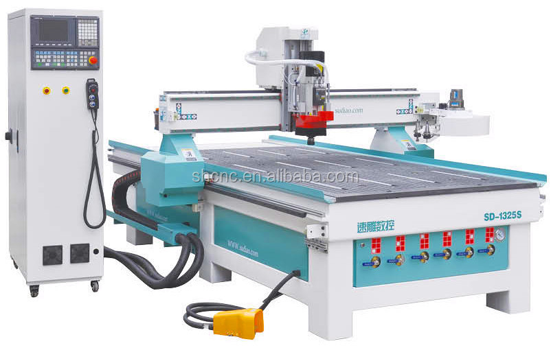 Cnc Machines With Automation/cnc wood process center 1325S wood carving machinery