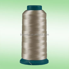 Wholesale super bright 100% polyester sewing thread