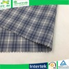Yarn dyed plaid moisture-wicking 65 cotton 35 polyester fabric