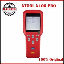 100% Original XTOOL X100 PRO Auto Key Programmer X100+ Updated Version X-100 Pro Key Programmer with EEPROM Adapter