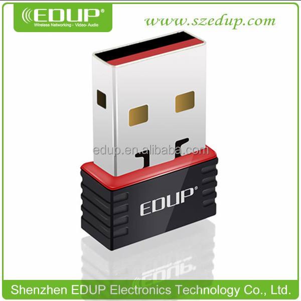 EDUP 150Mbps IEEE802.11N Realtek 8188CUS WiFi USB Wireless Adapter wifi direct nano usb adapter EP-N8508