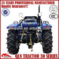 uses four wheel tractor QLN 45hp tractor for farm in china