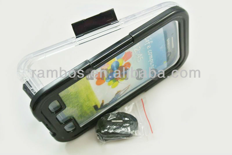 Galaxy S4 Waterproof Bag Pouch Underwater Dry Mobile Phone Case Cover for Samsung Galaxy S IV i9500