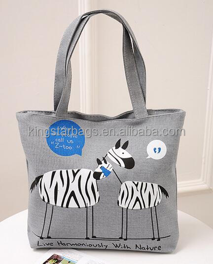 wholesale cotton canvas tote shopping bag