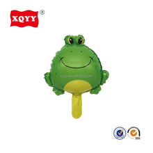 12 inch mini frog shape animal helium foil party balloon