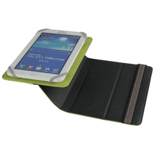 "Leather Universal 7"" 8"" inch Case, Adjustable Size With Two Colors,Universal Tablet Leather Case for Ipad Mini"