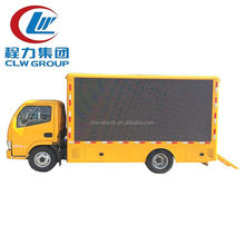HOWO 4*2 Mini LED Screen Video Billboard Truck For Advertising Truck